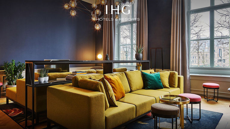 InterContinental Hotels Group recently rebranded to IHG Hotels & Resorts.