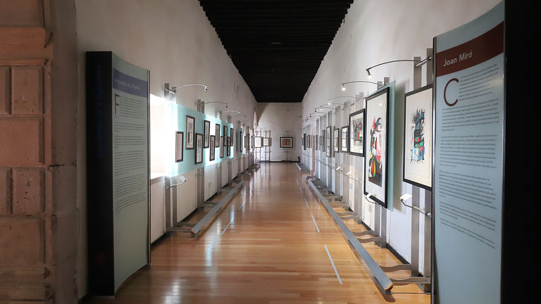 Museo Pedro Coronel, an art museum, was formerly a Jesuit college, a hospital, barracks and a prison.