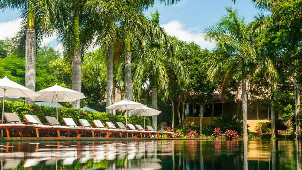 The Zen Pool at Grand Velas Riviera Maya // © 2015 Grand Velas Riviera Maya 2