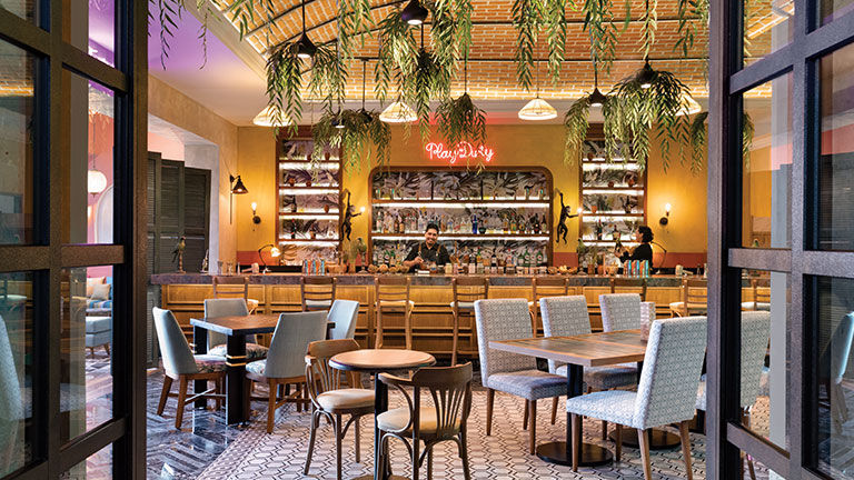 La Mejorada is a new bar off the lobby.