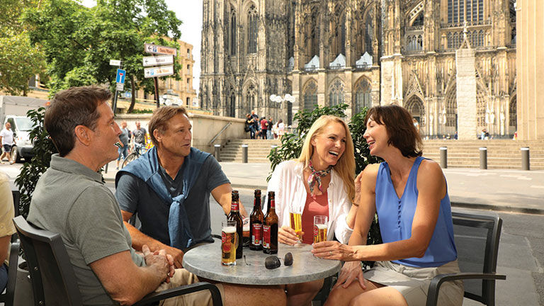The 46-night voyage includes 130 complimentary shore excursions.