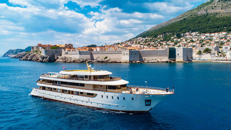 The writer sailed the Croatian islands on the 36-passenger Lastavica.
