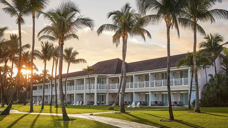 The Ocean Club, a Four Seasons Resort, is located on Paradise Island, Bahamas.