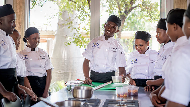 Singita works closely with local communities.