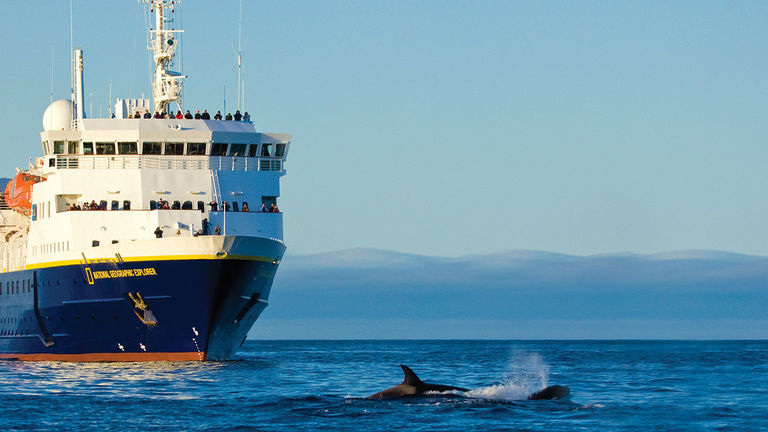 Lindblad Expeditions recently became the first self-disinfecting fleet in the cruise industry.