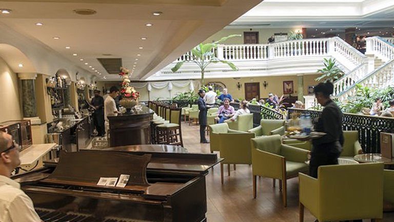 Inside the Iberostar Hotel Parque Central // © 2016 Iberostar Hotel Parque Central