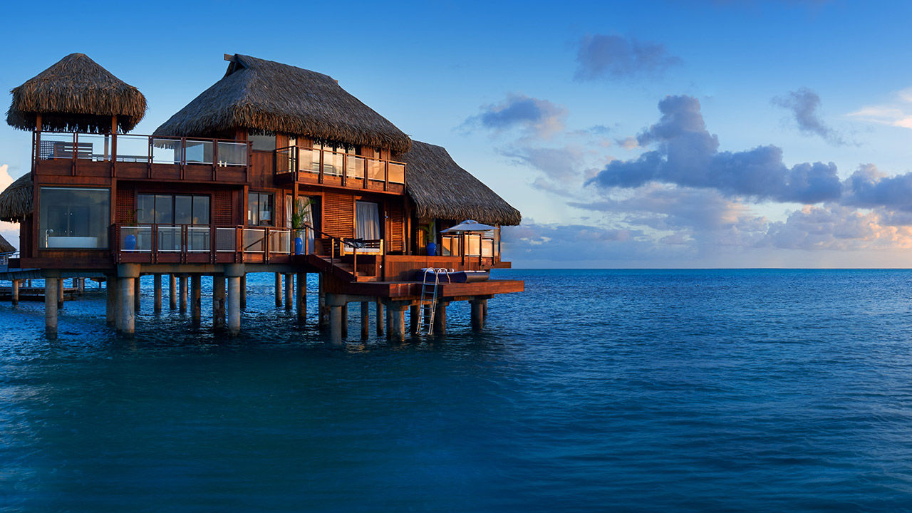 The small size of Tahiti's properties should appeal to post-pandemic visitors.