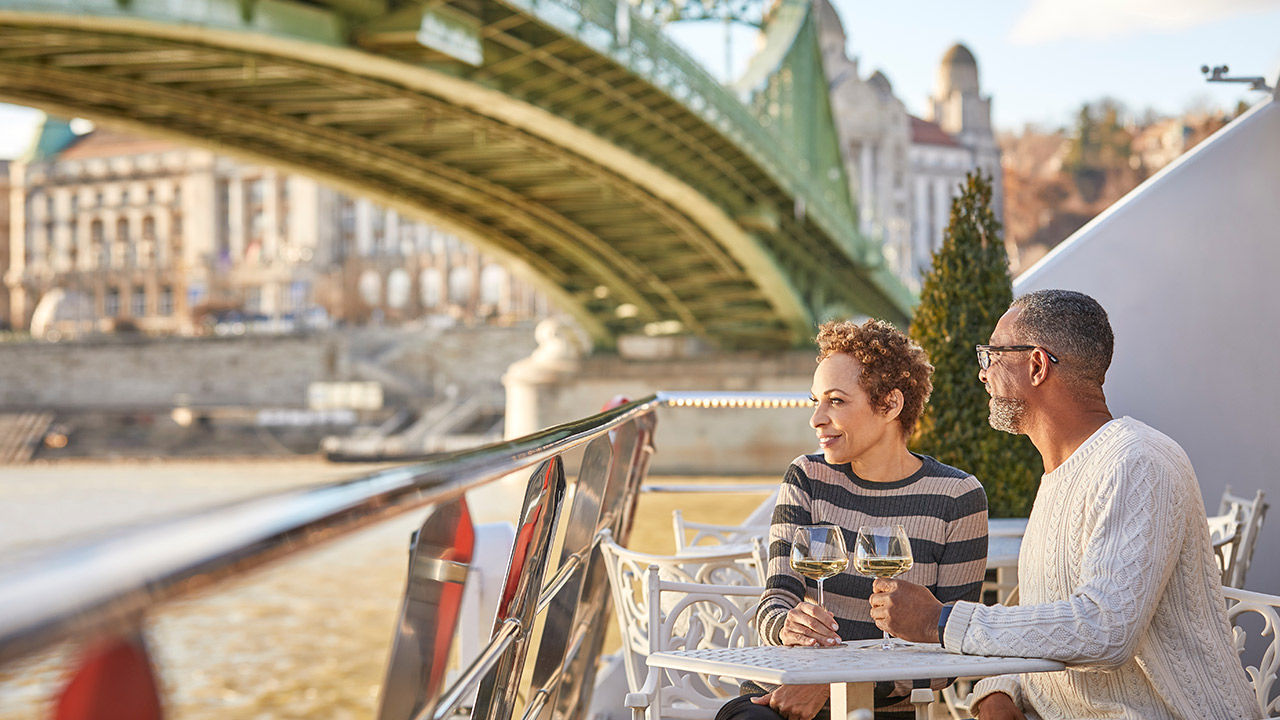 Most riverboats offer a range of dining options.