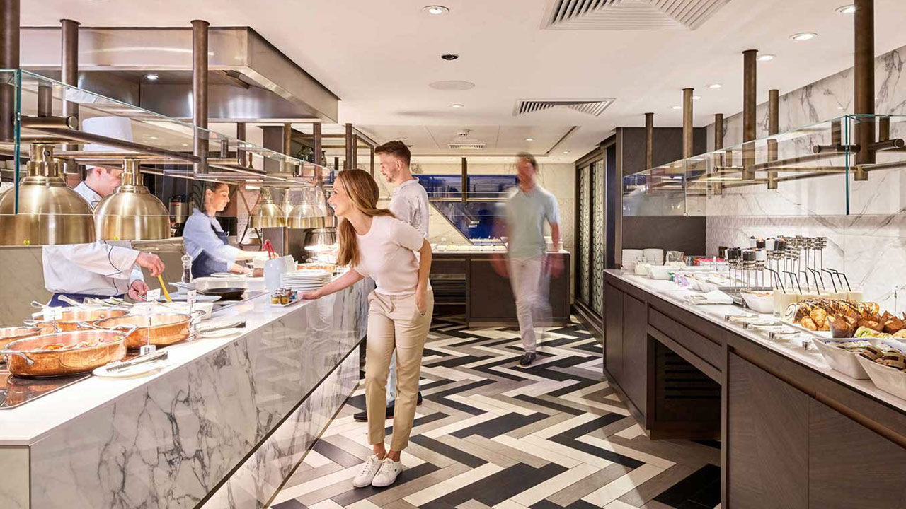 River cruise lines work at customizing guests' experience.