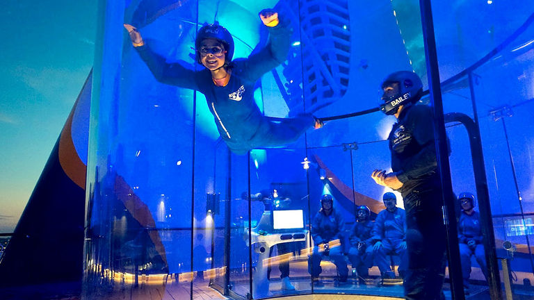 RipCord by iFly is onboard two ships from Royal Caribbean.
