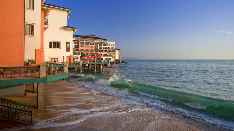 The Monterey Plaza Hotel & Spa overlooks the Pacific Ocean.