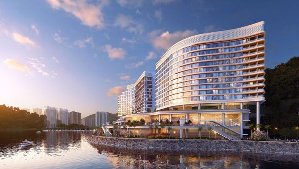 The 428-key waterfront luxury hotel offers direct access to the city's iconic Ocean Park when it opens in 2022.
