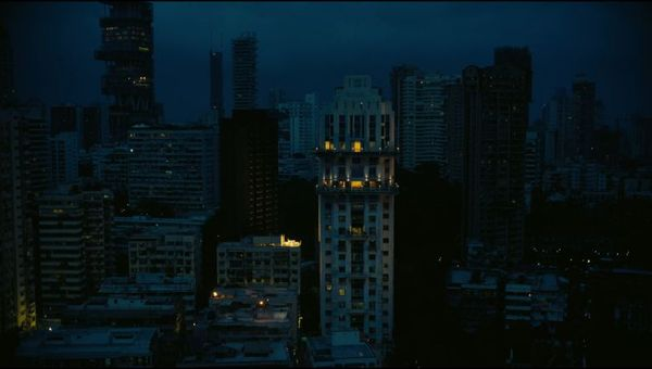 Tenet was shot in Mumbai, where the Neelam Shree Vardhan Tower was the backdrop for the bungeeing scene.