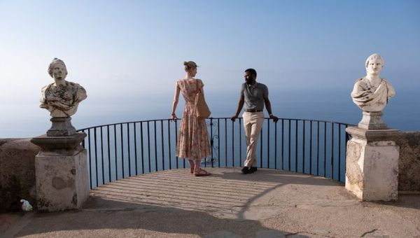 Italy's Amalfi coast is featured in crucial scenes in the science fiction action-thriller film