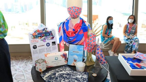 Dream Cruises provides a platform for Singapore's homegrown brands to showcase their products.