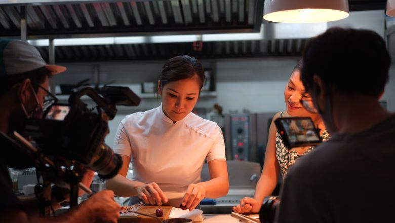 Vicky Lau of two-Michelin-starred Tate Dining Room, Asia's first and only female chef with the accolade.