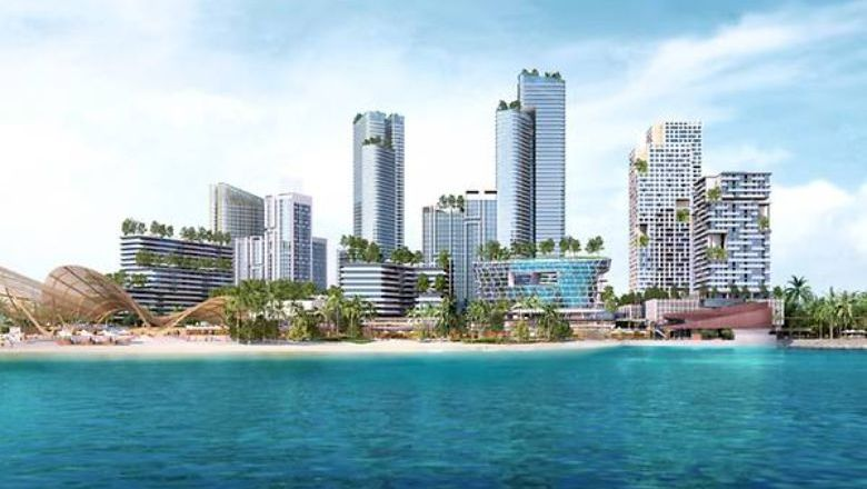 """Marketed to Singaporeans as a """"home away from home,"""" Opus Bay will also target those looking for a leisurely weekend jaunt, where a factory outlet is due to open in October 2022."""
