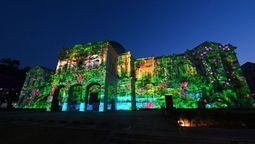 See Singapore's landmarks transform by night