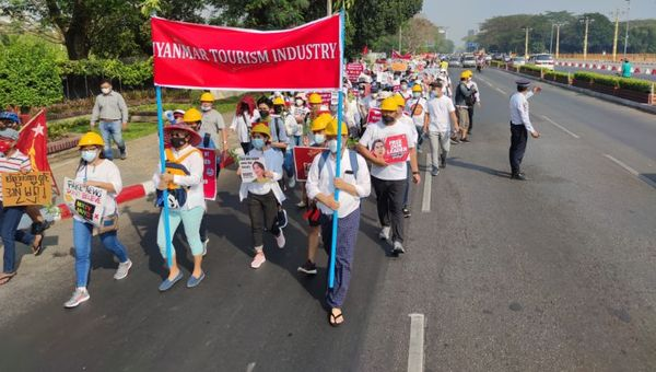 Myanmar demonstration