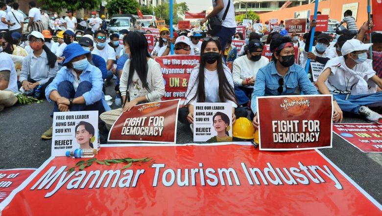 The travel industry calls on the ruling junta to relinquish their power grab and restore democracy in the country.