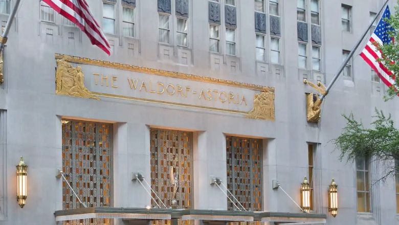 A winning #WaldorfStories entry will be chosen to win the grand prize of a weekend at the Waldorf for two, when the hotel reopens after restoration works in 2023.
