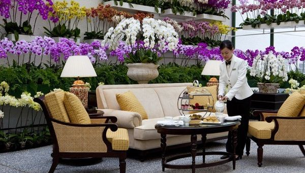 The Orchid Conservatory at The Majestic Kuala Lumpur