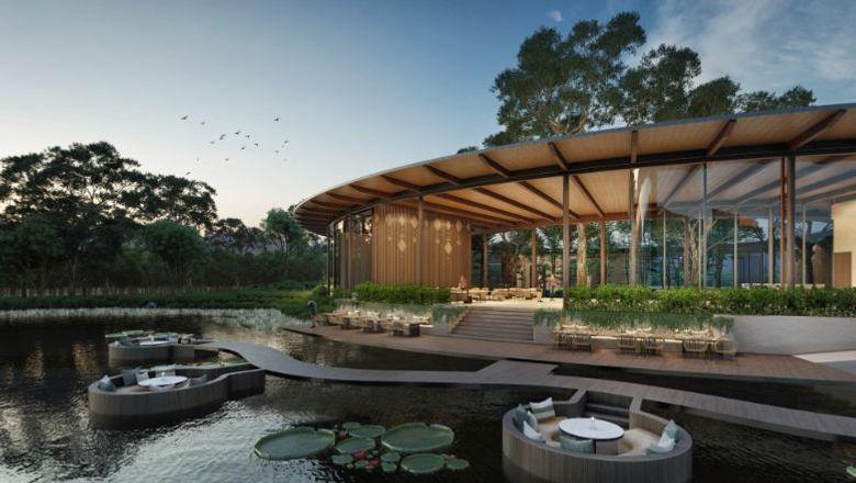 Rendering of Tri Vananda wellness resort