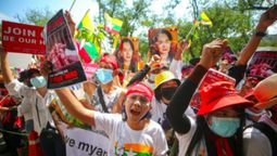 Helping hand for Myanmar's people