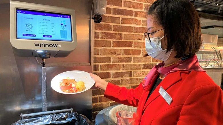 Artificial intelligence is employed in all employee dining rooms across Melco's integrated resorts in Macau and Manila to measure and reduce plate waste.