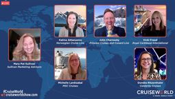 Sell what you need to for survival, cruise execs tell agents