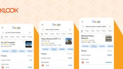Klook turns to Google for Things to do