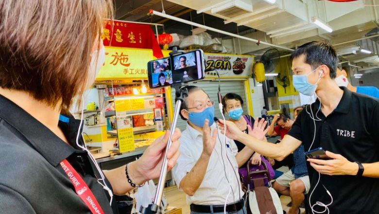 Tribe pivoted to virtual tours when the pandemic brought global travel to a halt.