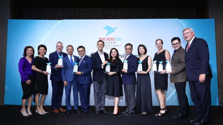 Nine awards were handed out to winners in the cruise category at Travel Weekly Asia's Readers' Choice Awards 2019.