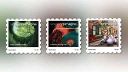 Singapore stamps its appeal Down Under