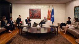 黑山共和国总理接见众信旅游集团董事长 欧洲高端度假胜地热情欢迎中国游客