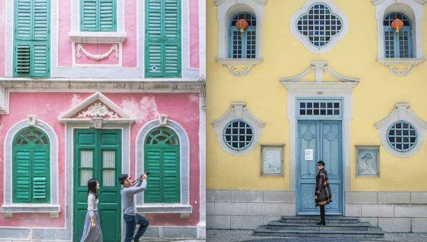 旅拍服务正在兴起,澳门为寻求此类主题摄影的游客提供了海量的景点选择。