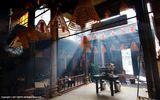澳门众多庙宇中一个宁静的清晨