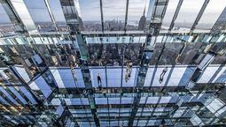 全新动态沉浸式艺术装置融入纽约市天际线