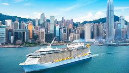 亚洲最大豪华游轮海洋光谱号将从香港安全重启