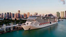 MSC地中海邮轮正式在美国复航
