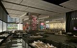 A rendering of the hotel's STK Rebel steak house.