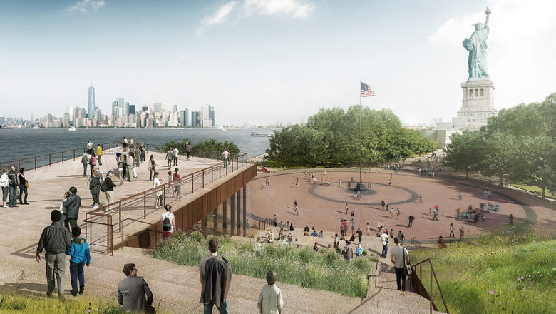 A new Statue of Liberty Museum slated for 2019