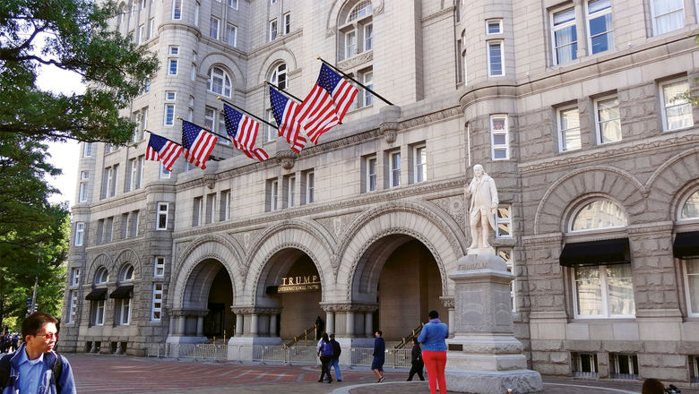 The Trump International Hotel Washington, D.C. is leased by the federal government to the Trump Organization.