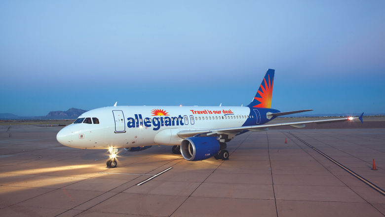 Allegiant flies to 126 airports and rotates among more than 500 routes, flying routes only two to three times per week on average.