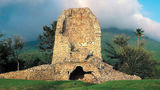 A ruin of a sugar mill in Nevis.