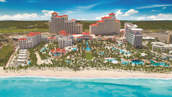 The Baha Mar Resort, which officially opened in May.