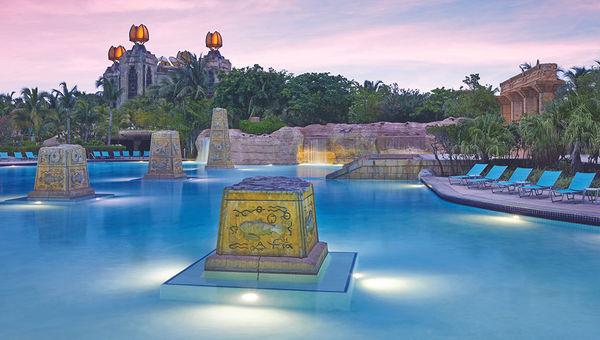 The Colonnade pool at Atlantis.