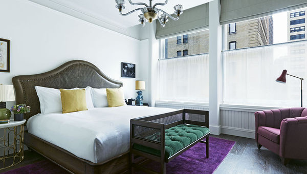 The Beekman's 287 rooms maintain the property's vintage feel, while providing the modern touches guests expect.
