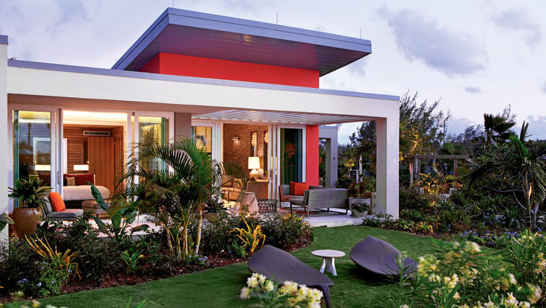 A bungalow at the Kimpton Seafire on Grand Cayman.