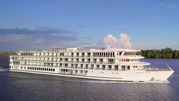 American Cruise Lines' American Song has been sailing at capacity since it was launched this month.
